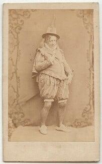 John Baldwin Buckstone as Sir Andrew Aguecheek in 'Twelfth Night', by Herbert Watkins - NPG x22082
