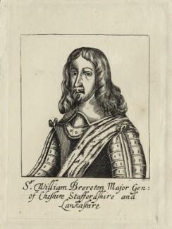 Sir William Brereton, 1st Bt, by R.S. - NPG D27167