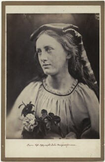 'La Contadina' (May Prinsep), by Julia Margaret Cameron - NPG x18046