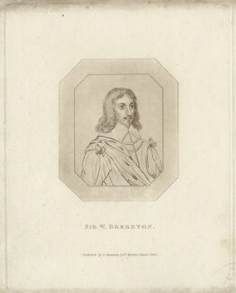 Sir William Brereton, 1st Bt, published by George Smeeton - NPG D27171