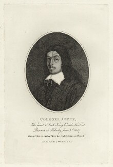 George Joyce, after Unknown artist, published by  William Richardson - NPG D27172