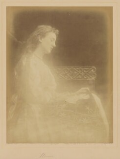 'Elaine' (May Prinsep), by Julia Margaret Cameron - NPG x18031
