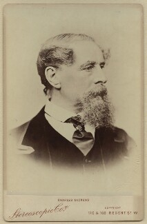 Charles Dickens, by London Stereoscopic & Photographic Company - NPG x11860