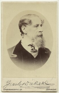 Charles Dickens, by London Stereoscopic & Photographic Company - NPG x11864