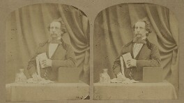 Charles Dickens, by (George) Herbert Watkins, 29 April 1858 - NPG x5585 - © National Portrait Gallery, London