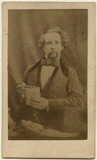 Charles Dickens, by Herbert Watkins - NPG x14342