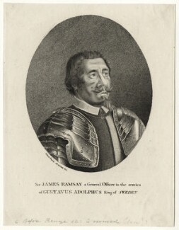('Sir') James Ramsay ('Black Ramsay'), after Sebastian Furck - NPG D27182