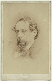 Charles Dickens, by John & Charles Watkins, published by  Mason & Co (Robert Hindry Mason), September 1863 - NPG x14346 - © National Portrait Gallery, London