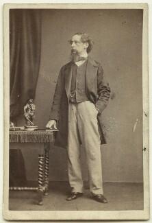 Charles Dickens, by John & Charles Watkins - NPG x14336