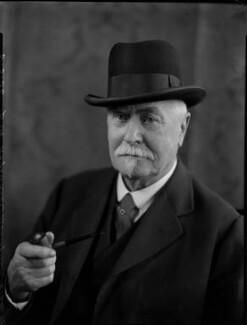 Sir Reginald Theodore Blomfield, by Bassano Ltd - NPG x152153