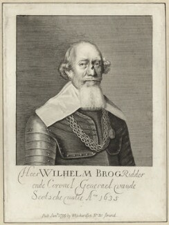 Sir William Brog, after Crispyn van den Queborne, published by  William Richardson - NPG D27191