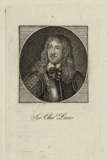 Richard Neville engraved as Sir Charles Lucas, after Unknown artist - NPG D27193