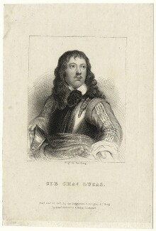 Richard Neville engraved as Sir Charles Lucas, by J. Greig - NPG D27195