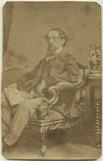 Charles Dickens, by John & Charles Watkins - NPG x14338