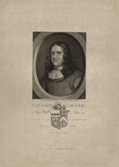 Sir John Caesar, published by Robert Wilkinson - NPG D27199
