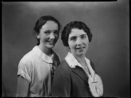 Susan Eleanor Rhys-Williams; Dame Juliette Evangeline Rhys Williams (née Glyn), by Bassano Ltd - NPG x152157