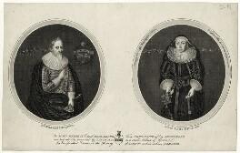 Sir William Herrick (Heyricke); Joan Herrick (née May), Lady Herrick, by James Basire, published 1795 - NPG D27204 - © National Portrait Gallery, London