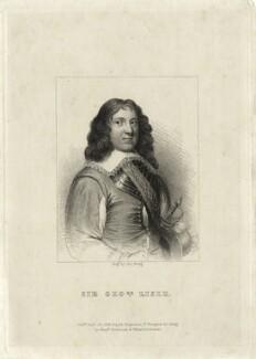 Sir George Lisle, by J. Greig - NPG D27208