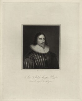 Sir John Gage, 1st Bt, by R. Cooper - NPG D27211