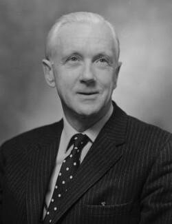 Sir (Robert) David John Scott Fox, by Bassano Ltd - NPG x173063