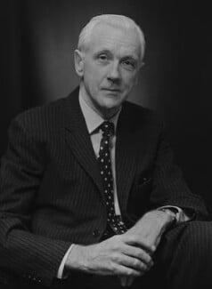 Sir (Robert) David John Scott Fox, by Bassano Ltd - NPG x173064