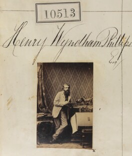 Henry Wyndham Phillips, by Camille Silvy - NPG Ax60227