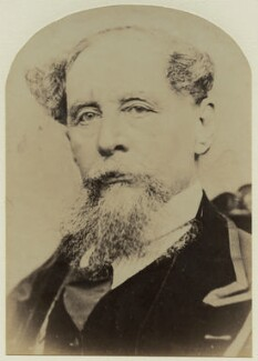 Charles Dickens, by Gurney & Son, or by  George Gardner Rockwood, 1867 - NPG x9057 - © National Portrait Gallery, London