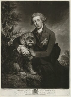 Henry Scott, 3rd Duke of Buccleuch, by John Dixon, after  Thomas Gainsborough - NPG D32258