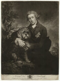 Henry Scott, 3rd Duke of Buccleuch, by John Dixon, after  Thomas Gainsborough - NPG D32259