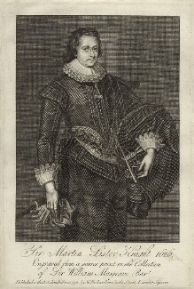 Sir Martin Lister, published by William Richardson, after  Robert White - NPG D27223