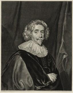 Sir John Webster, Bt, by Theodor Matham, after  Cornelius Johnson (Cornelius Janssen van Ceulen) - NPG D27226