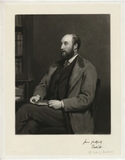 William Henry Walter Montagu-Douglas-Scott, 6th Duke of Buccleuch, by James Faed the Elder, after  Walter William Ouless - NPG D32264