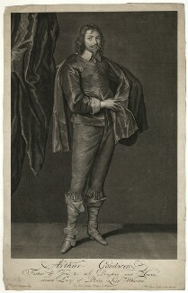 Arthur Goodwin, by Pieter Stevens van Gunst, after  Sir Anthony van Dyck - NPG D27236