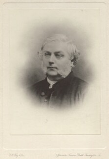 Henry John Gauntlett, by Clarence Edmund Fry & Son, after  Unknown photographer - NPG x16336