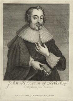John Harrison, after Unknown artist, published by  William Richardson - NPG D27238
