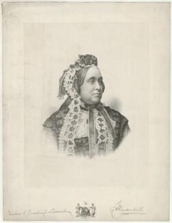 Charlotte Anne Montagu-Douglas-Scott (née Thynne), Duchess of Buccleuch, by Charles William Walton, after  Unknown artist - NPG D32268