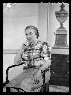Golda Meir, by Bassano Ltd - NPG x173119