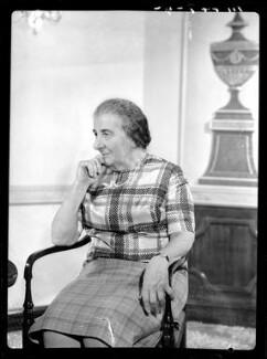 Golda Meir, by Bassano Ltd - NPG x173120
