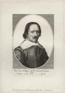 Edward Calver, after Wenceslaus Hollar, published by  William Richardson - NPG D27249