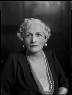 Hannah, Princess Asfa Yilma (Mrs Algernon Holland), by Bassano Ltd, 6 June 1936 - NPG x152194 - © National Portrait Gallery, London