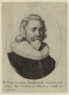 Sir Benjamin Rudyerd (Rudyard), by Wenceslaus Hollar - NPG D27254