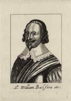 Sir William Balfour, by R.S. - NPG D27255