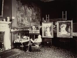 Sir John Everett Millais, 1st Bt, by Rupert Potter - NPG x131235