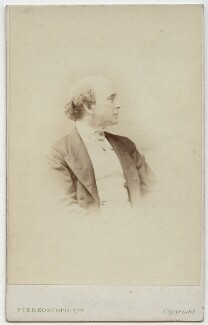 Dion Boucicault, by London Stereoscopic & Photographic Company - NPG x1176