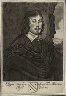 Sir Thomas Browne, after Unknown artist, published 1669 - NPG D27273 - © National Portrait Gallery, London