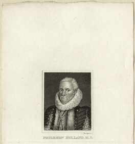 Philemon Holland, by James Thomson (Thompson) - NPG D27275