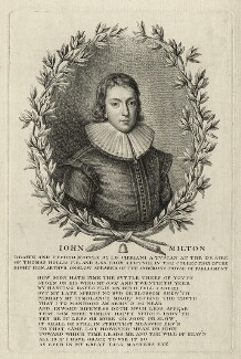 John Milton, by Giovanni Battista Cipriani - NPG D27289