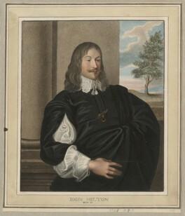 John Milton, by Harding - NPG D27290