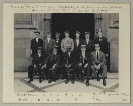 Visit of (U.S.) American Athletes to the Olympian Games - Franco-British Exhibition, London, 1908', by Benjamin Stone, 29 July 1908 - NPG x131230 - © National Portrait Gallery, London
