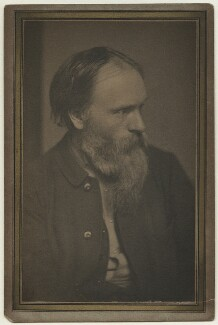 Sir Edward Coley Burne-Jones, 1st Bt, by Frederick Hollyer - NPG x4905